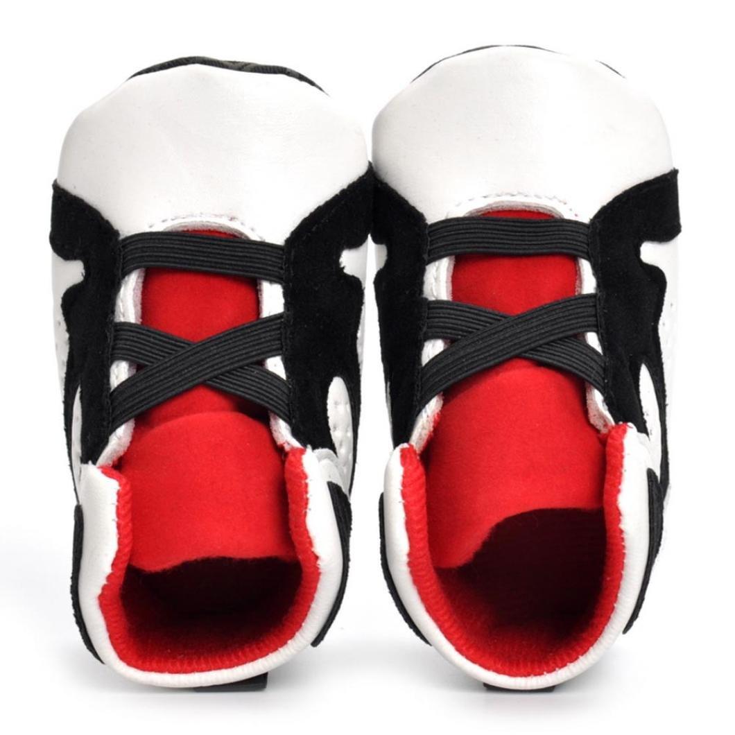 FNKDOR Babyschuhe M/ädchen Jungen Neugeborene Weiche Rutschsicheren Baby Kinder Schuhe