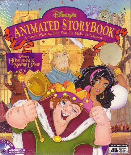 Price comparison product image The Hunchback of Notre Dame Animated Story Book