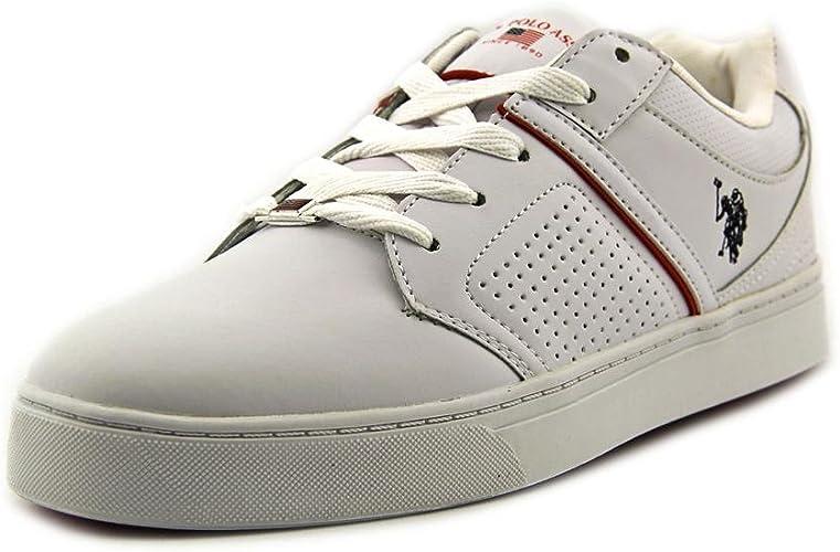 US Polo Assn Madrid Hombre Blanco Deportivas Zapatos Talla EU 42,5 ...