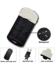 Premium Quality Baby Cozy Footmuff Extendable Baby Bunting Bag Adaptable for Universal Strollers