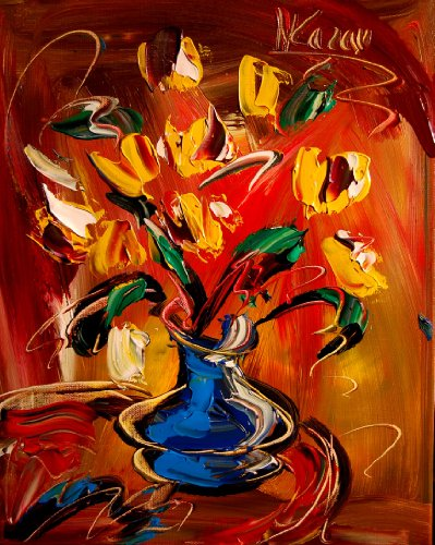 tings Artwork New York Landscape Wine Still Life Cityscape Trees Music Jazz Hearts Pop Art Modern Contemporary Gallery Wall Decor Canvas Abstract Art for Sale By Artist Mark Kazav Ready to Display Palette Knife Texture Impressionist Fine Art Gallery Red Blue Black Green Earthy Wall Decor ()