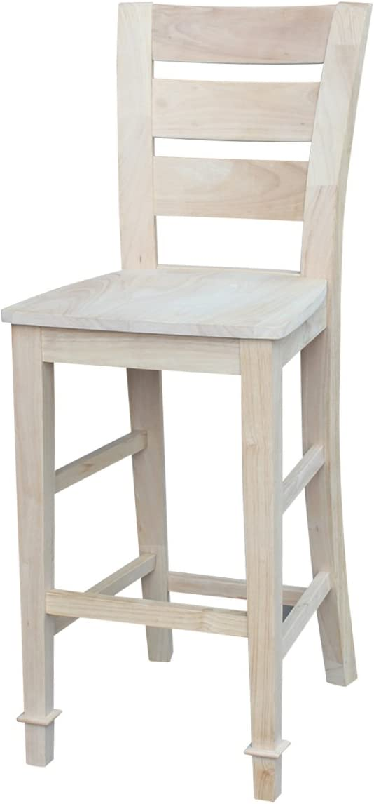 International Concepts Tuscany Stool Barstool, 30 inch