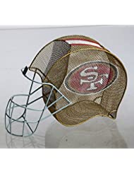 Team Sports America San Francisco 49ers Football Helmet Bottle And Cork Cage Holder