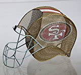 Cheap Team Sports America San Francisco 49ers Football Helmet Bottle and Cork Cage Holder