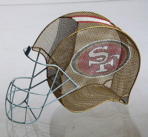 Cheap Team Sports America San Francisco 49ers Football Helmet Bottle and Cork Cage Holder