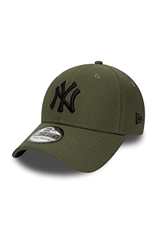 New Era 39Thirty Diamond Tech Cap - New York Yankees olive - L XL ... b10895905cb