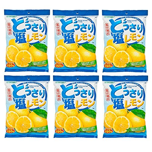 Lemon and Salt Candy 150g (628MART) (6 Packs) by Cocon (Image #1)