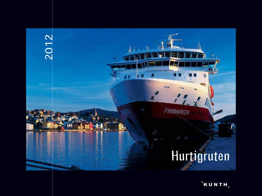 KUNTH Kalender Hurtigruten 2012