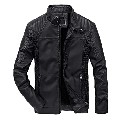 AMhomely Mens Packwork Warm Zipper Coat Jacket Knit Cardigan Windbreaker,Autumn Winter Outwear Warm Causal Sweatshirt/&Tracksuit/&Long Sleeve/&Shirt/&Top Blouse for Mens Size M-3XL