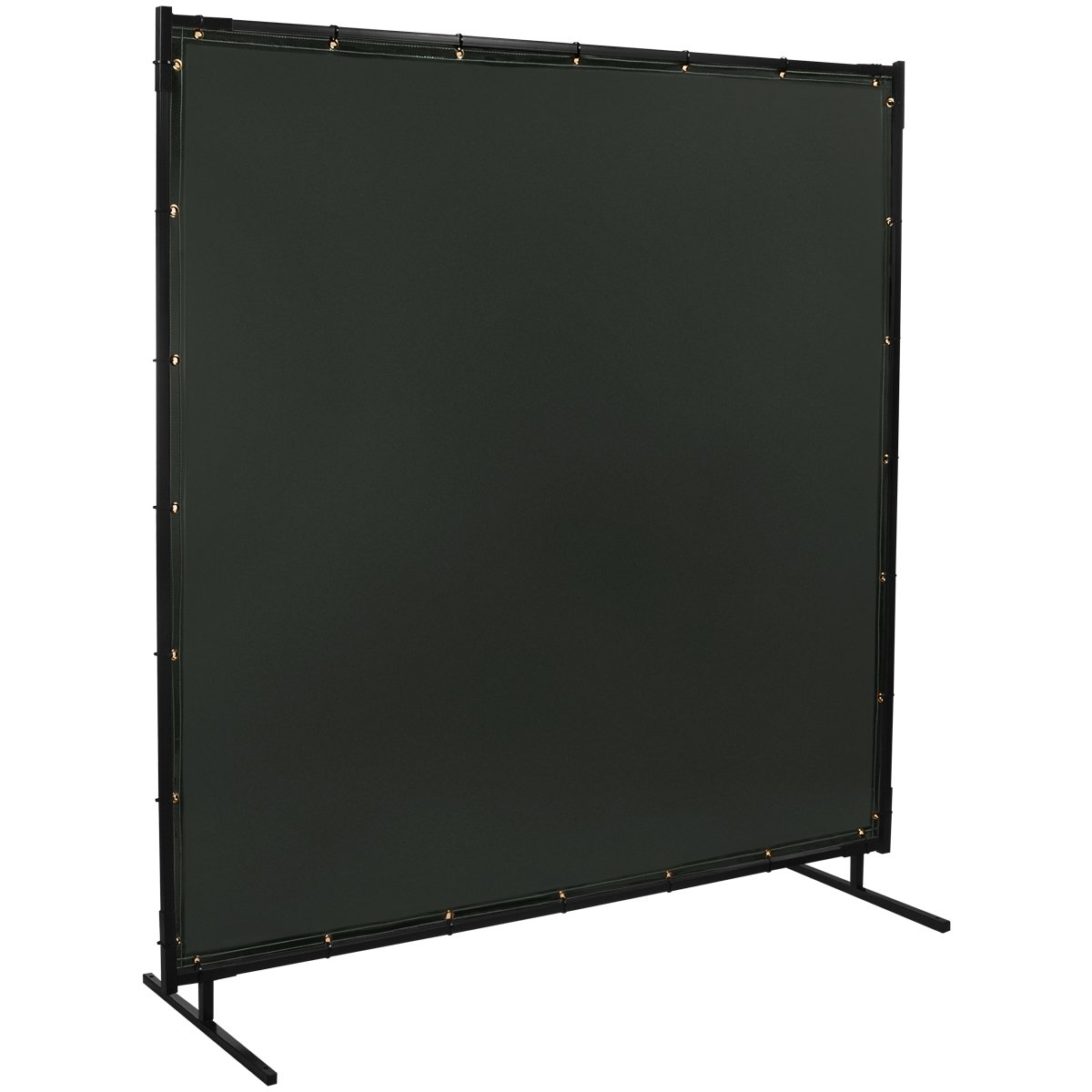 Steiner 522-4X6 Protect-O-Screen Classic Welding Screen with Flame Retardant 14 Mil Tinted Transparent Vinyl Curtain, Shade 8, 4' x 6'