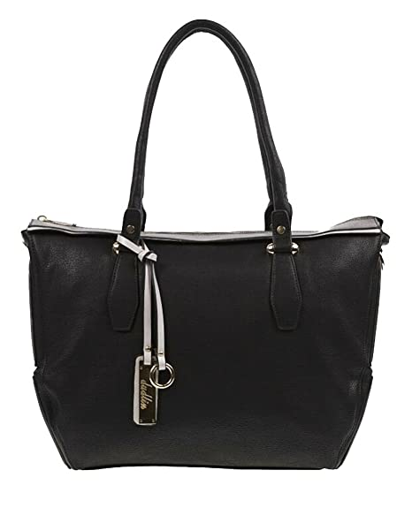 Dudlin, Borsa a mano donna Nero nero Large: Amazon.it