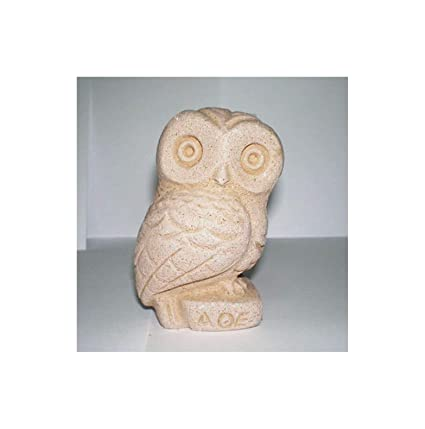 Owl Of Athens Small Statue Ancient Greek Cycladic Art