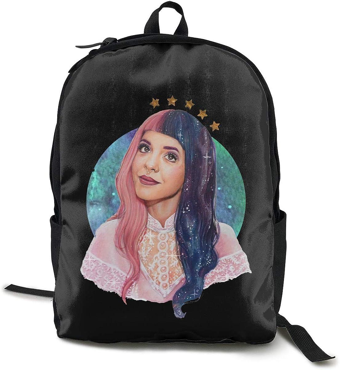N / A Mochila clásica Melanie Martinez Cry Baby Pack, mochila escolar, bolsa negra, viaje de trabajo, poliéster, unisex, escuela