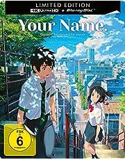 Your Name. - Gestern, heute und für immer - Limited Edition - Steelbook  (4K Ultra HD) (+ Blu-ray 2D)