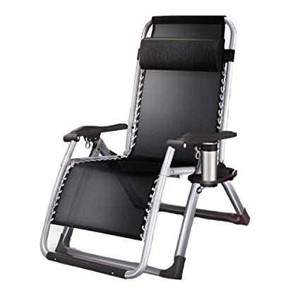 Amazon.com: Silla reclinable plegable para el almuerzo ...