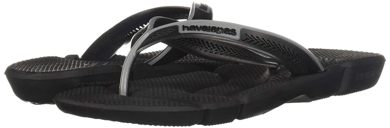 Zehensandalen Flip Flops Havaianas Power Black//Steel Grey 4123435-6328