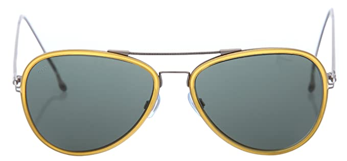 Web Hombre Gafas de sol amarillo/plata we69 - 39 N: Amazon ...