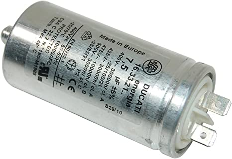 Hotpoint Secadora Condensador 7.5uF c00119849: Amazon.es: Grandes ...