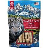 Blue Buffalo Wilderness Grain Free Dog Treats Denali Stix With Wild Salmon, Venison & Halibut 6Oz