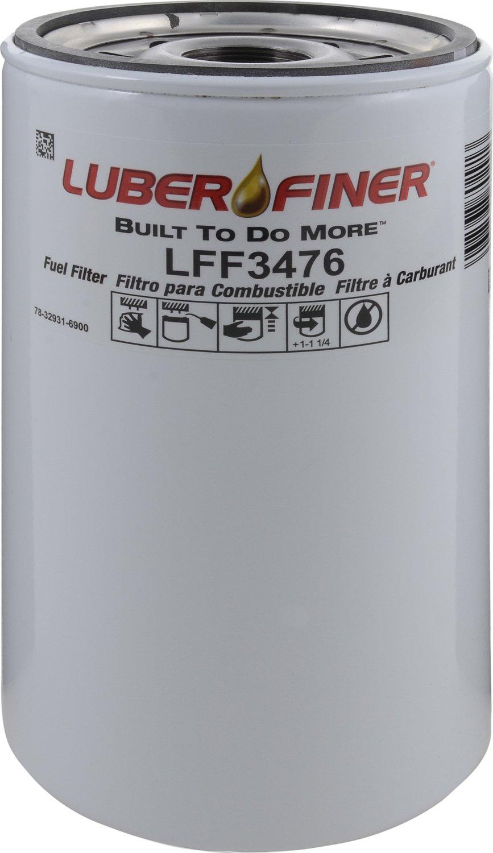 Luber-finer LFF3476-12PK Heavy Duty Fuel Filter, 12 Pack by Luber-finer