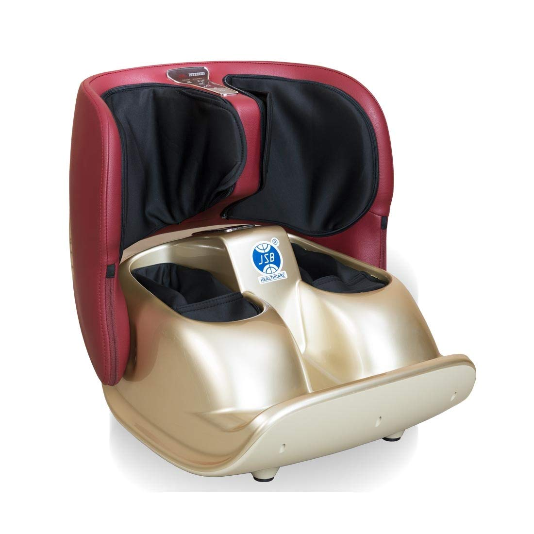 JSB Hf119 Calf and Airbags Compact Foot Massager Machine for Leg Pain Relief