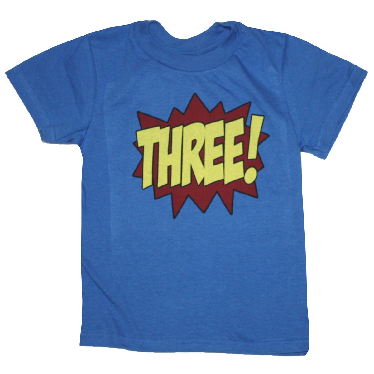 Happy Family Clothing Little Boys Superhero Third Birthday Kids T Shirt