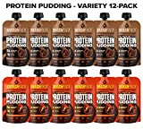 SmashPack Protein Pudding Pouches (Variety Pack) – Grass-Fed Protein, Low Sugar, Low Carb Snack | 15g Protein, 4g Sugar, 130 Calories | Gluten Free, Non-GMO & Keto Friendly | 12-Pack Review