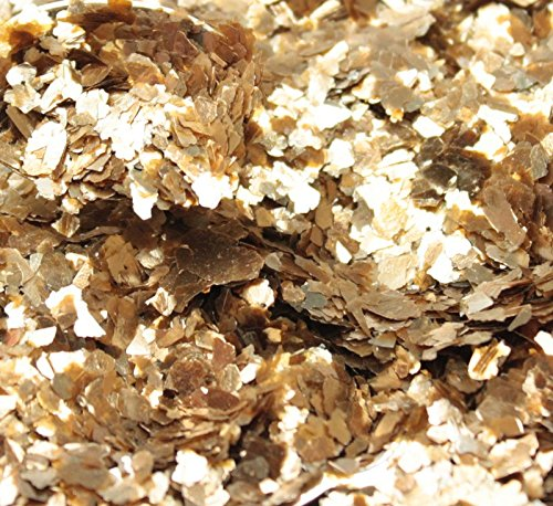 Gold - Small Flake - Natural Mica - #311-4331 (8 oz Bulk (1/2 Pound))