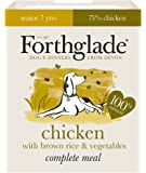 Forthglade 100% Natural Complete Meal Senior Dog Pet Food Chicken, Brown Rice & Vegetables 395g (18 Pack)