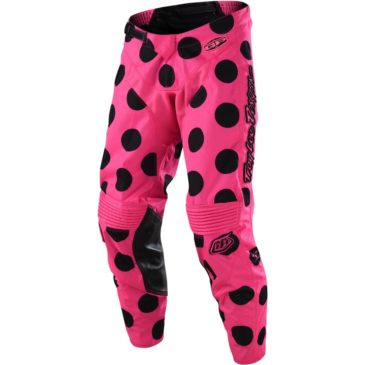 2018 Troy Lee Designs GP Polka Dot Pants-Black/Flo Pink-30