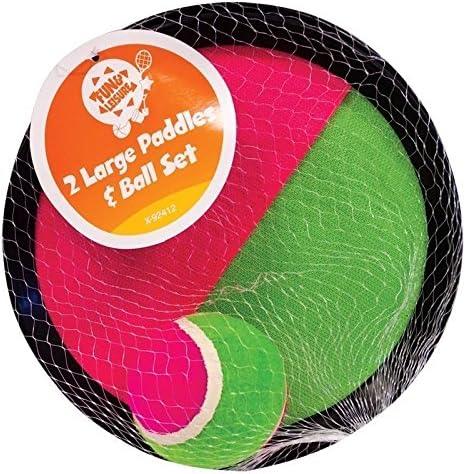 Virtuemart Juego Palas con Velcro y Pelota de Tenis Ideal para la ...