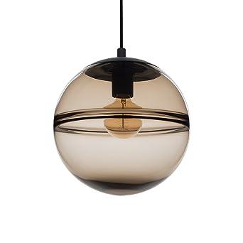 unique pendant lighting. casamotion unique optic contemporary hand blown glass pendant light ceiling hanging lighting fixtures brown