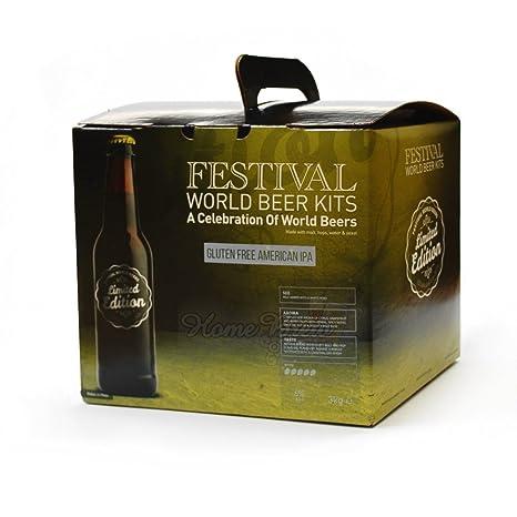 Festival mundo cervezas - sin gluten American IPA: Amazon.es ...