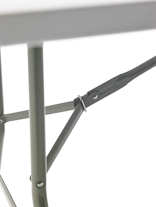 Mesa Plegable Rectangular, 180 x 74 x 74 cm, color blanco (Tenco ...