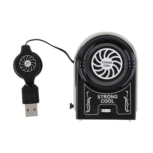 Yogasada Mini Aspirador USB Cooler Ventilador de enfriamiento de ...