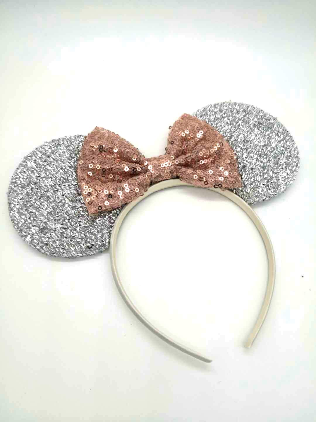 Rose Gold Mirror Mouse Head