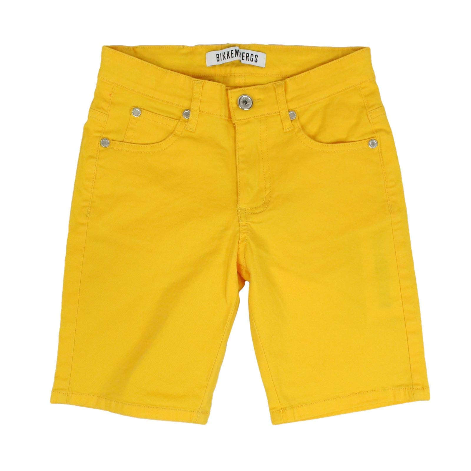 Bikkembergs Boys 2375771 Yellow Cotton Shorts