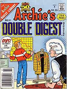 archie digest library price guide