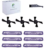 I clean Replenishment Neato Botvac Connected Filter, Replacement Brush Parts Neato D80 D5 D7 D85 D3 D75 Vacuum Cleaner Parts Pets Allergies
