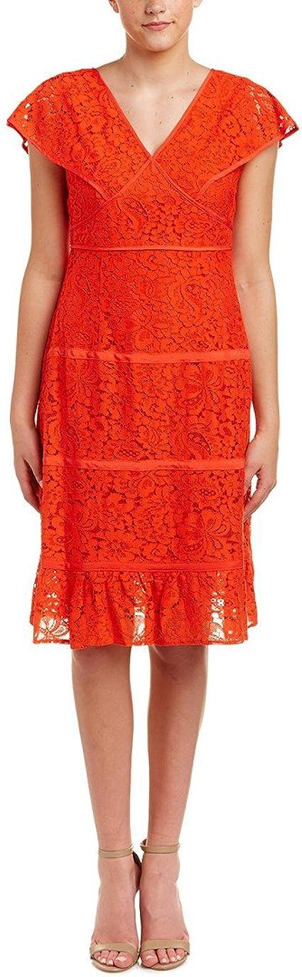 Nanette Nanette Lepore Womens Lace Dress Special Occasion