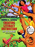 Creating Literacy Instruction for All Students, Gunning, Thomas G., 0137009267