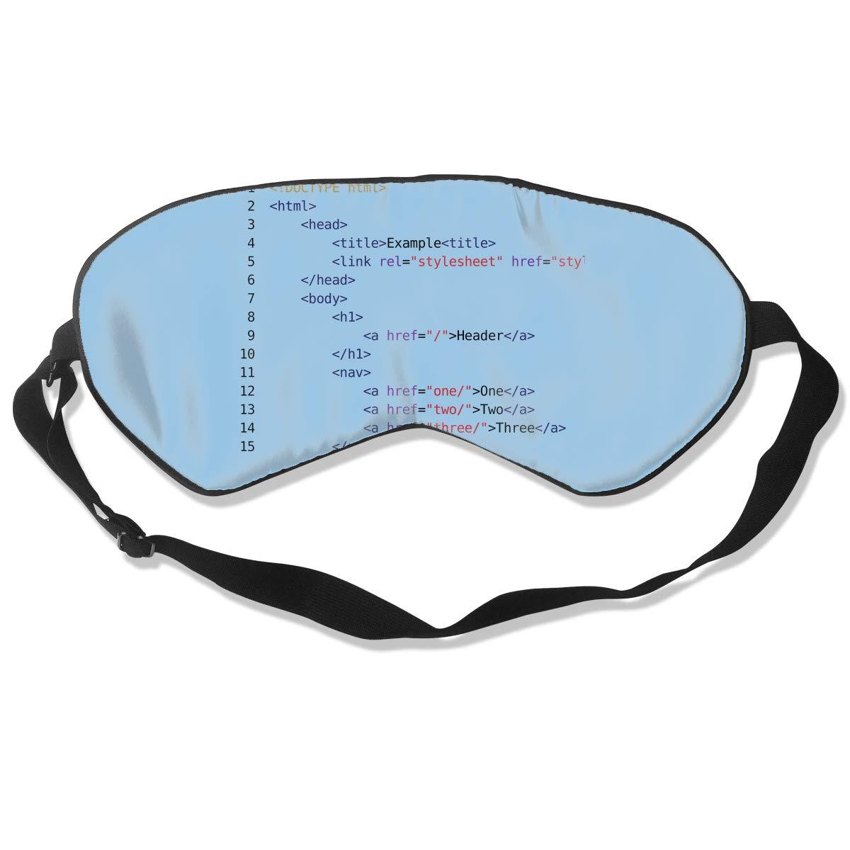 Amazon com: Sleep Mask Computer Code Eye Cover Blackout Eye