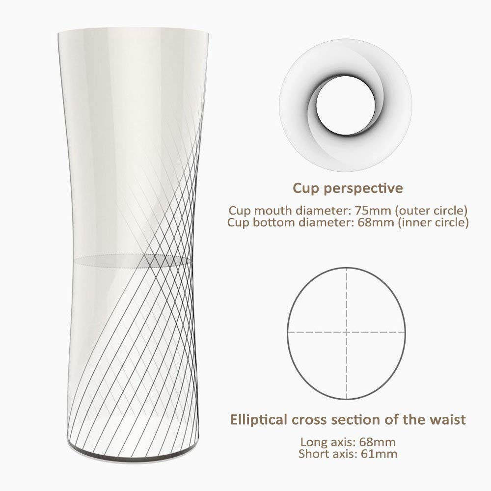 Kiss Kiss Fish Vacuum Mug with OLED Temperature Display Travel Mug Coffee Mug including Coffee Brewer 15oz//430ml Touch Interactive Stainless Steel Travel Tumbler White