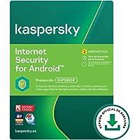 Kaspersky Internet Security para Android | 2 Dispositivos 2 Móviles | 1 Año | Android | Código de activación vía correo…