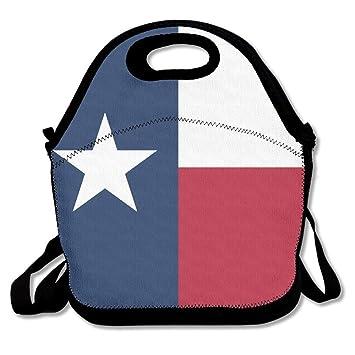 Dozili Bandera de Texas grande y gruesa bolsas de almuerzo ...