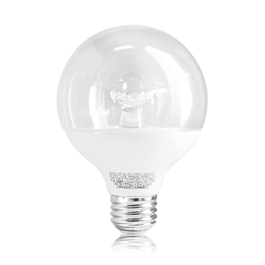 Ecosmart 40w Equivalent Clear Soft White Dimmable G25 Globe Light Bulbs Medium Base 3 Pack