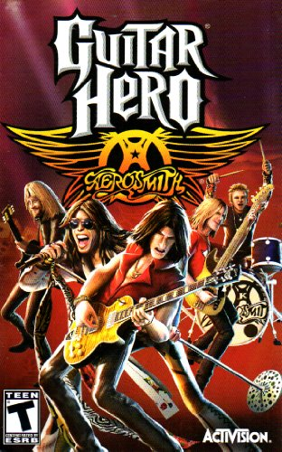 (Guitar Hero - Aerosmith PS2 Instruction Booklet (PlayStation 2 Manual Only - NO GAME) [Pamphlet only - NO GAME INCLUDED] Play Station 2)