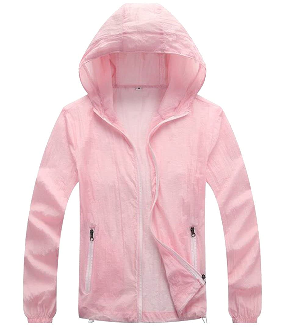 Rrive Womens Urltra Lightweight Sun Protection Jacket Outdoor Quick Dry Skin Coat
