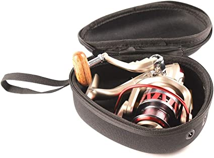 SNOWINSPRING Angel Rolle Tasche wasserdichte H/üLle Nylon Eva Tropfen Form Angel Rolle Tasche Tackle Aufbewahrungs Tasche zum Angeln Trollin