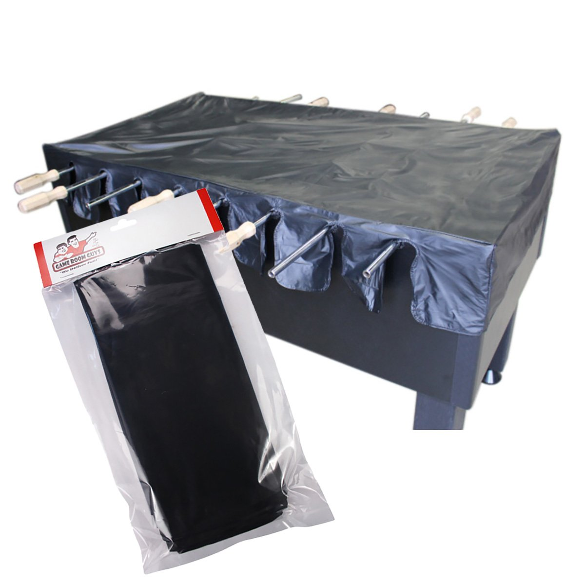 Game Room Guys Black Universal Foosball Table Cover by Game Room Guys